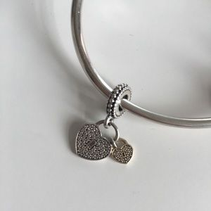 Pandora love locks charm